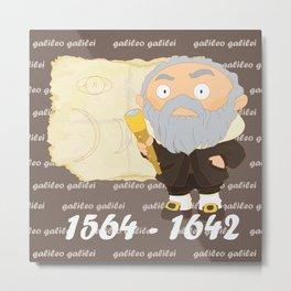 Galileo Galilei Metal Print
