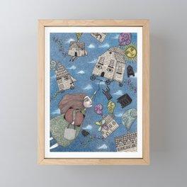 Moving Day Framed Mini Art Print