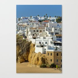 Albufeira old town, Portugal Canvas Print