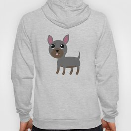 Grey Chihuahua Hoody