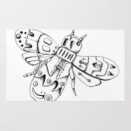 Steampunk Bee Rug