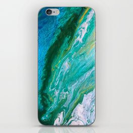 Into the wild green yonder iPhone Skin