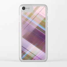 Layer Cake in Purple Clear iPhone Case