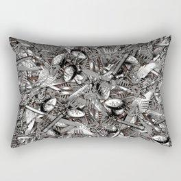 Eat The Rich Rectangular Pillow