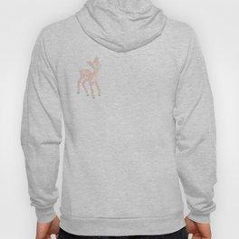 Little deer/fawn cross stitch Hoody