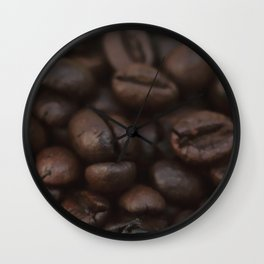 Coffee beans in glass Jar - fine art - still life - interior decoration, for bar & coffeehouse,  #1 Wall Clock