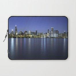 Chicago Skyline Dusk Panorama Laptop Sleeve