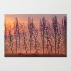 Beyond the Dawn Canvas Print