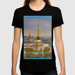 Saint Petersburg Admiralty T-shirt