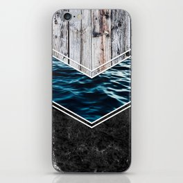 Striped Materials of Nature IV iPhone Skin