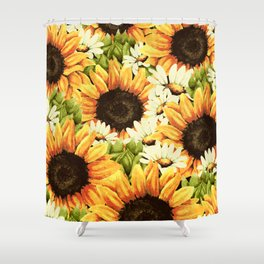 Summer Garden (Sunflower Sunshine) Shower Curtain