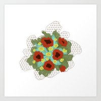 Bouquet #4 Art Print
