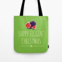 Happy Figgy Christmas Tote Bag