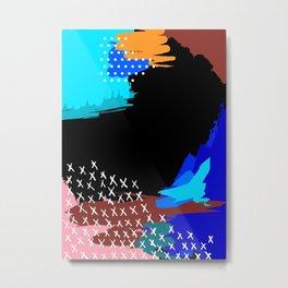 Vivid Abstract 1 Metal Print