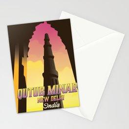 Qutub Minar New Delhi Stationery Cards