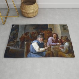 David Teniers II Country Pub Rug