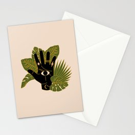 Mystic Hand Stationery Cards