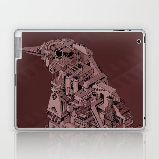 Red Bird Machine City Laptop & iPad Skin