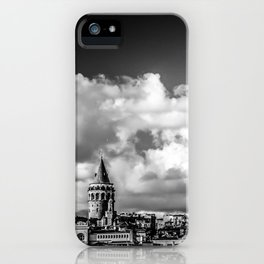 Istanbul: A Fusion of Black and White iPhone Case