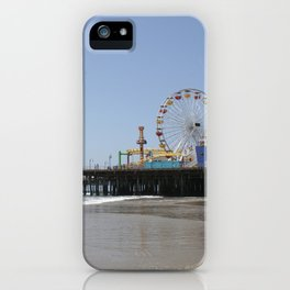 Santa Monica Pier iPhone Case