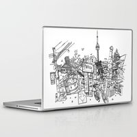 toronto Laptop & iPad Skins featuring Toronto! by David Bushell