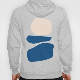 Organic Shapes in Blue and Lime Hoody