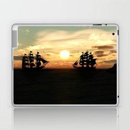 Seefahrt Begegnungen Laptop & iPad Skin