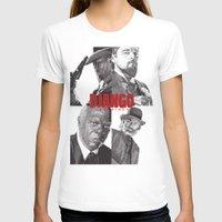 django T-shirts featuring Django Unchained by Rik Reimert
