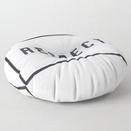 RESPECT - Light Box Floor Pillow