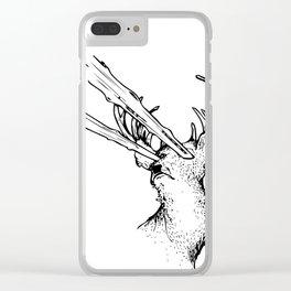Burn Clear iPhone Case