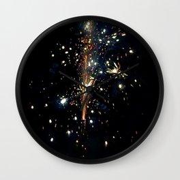 Sky Glitter Wall Clock