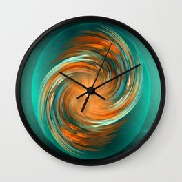 The energy of joy Wall Clock