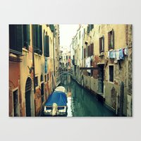 venice Canvas Prints featuring Venice by Mr and Mrs Quirynen