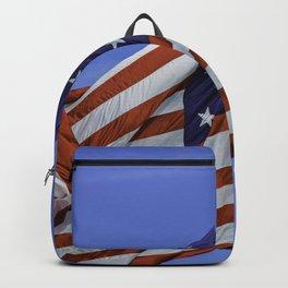 American Flag Backpack
