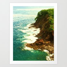 The Coast Art Print