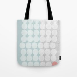 Concrete Dots Tote Bag