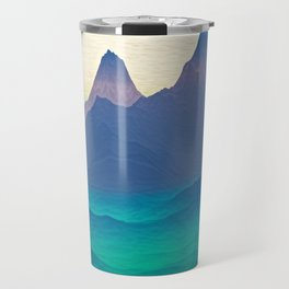 Green Valley Landscape Travel Mug