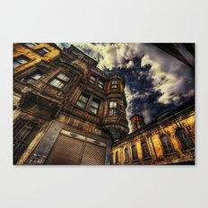 Chasing Blue Sky Canvas Print