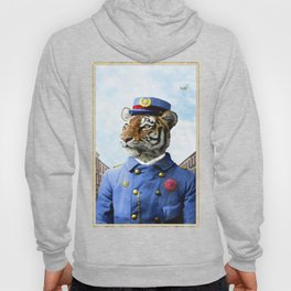 Postmaster Trenton Tigre on his Appointed Rounds Hoody