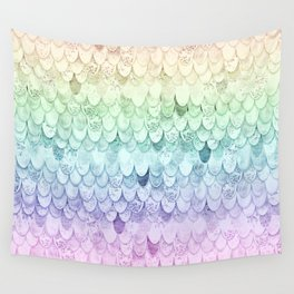 RAINBOW MERMAIDSCALES - MAGIC MERMAID Wall Tapestry