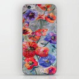 Flowers in a Field of Green iPhone Skin