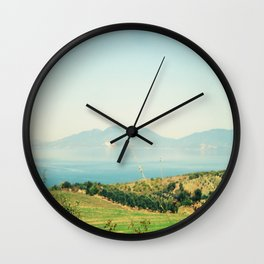 YESTERDAY YOU TOLD ME 'BOUT THE BLUE BLUE SKY Wall Clock
