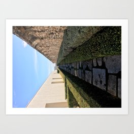 Pathway to Portugal Art Print