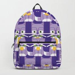 Super cute animals - Cute Kitty Cat Purple Backpack
