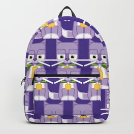 Super cute animals - Cute Kitty Cat Purple Backpack