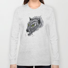 Trad Wolf Long Sleeve T-shirt