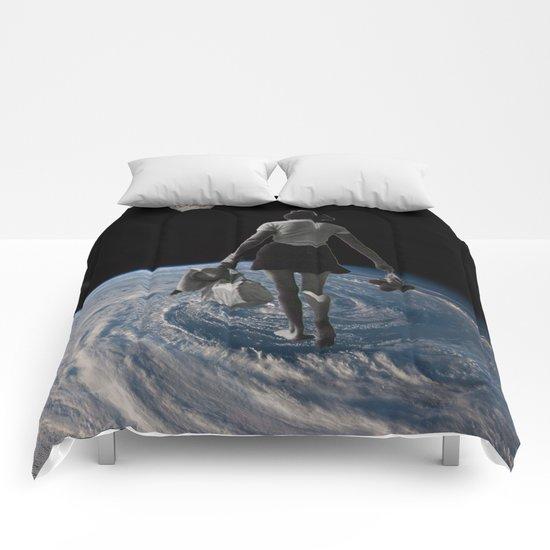Worlds Apart Comforters
