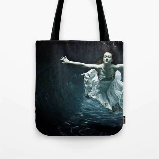 abyss of the disheartened : girl I Tote Bag