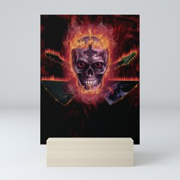 DEATH METAL Mini Art Print
