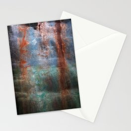 Prison Wall Waterfall Stationery Cards